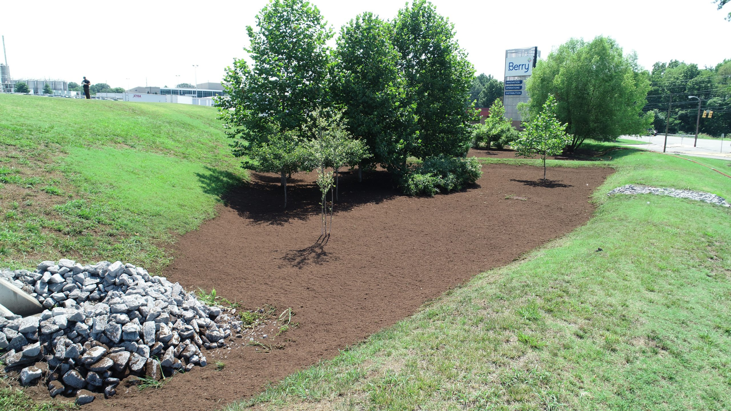 Beautiful view of Northstar's Bioretention Systems, Land Clearing Services and Stormwater BMP Nashville TN