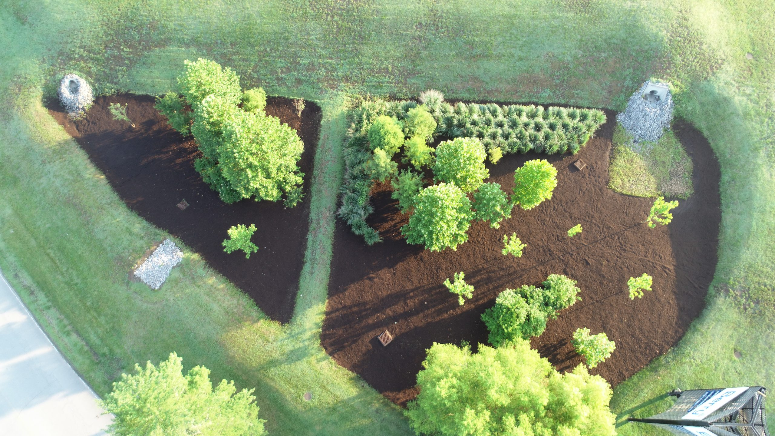 Bioretention Systems, Land Clearing Services and Stormwater BMP Nashville TN