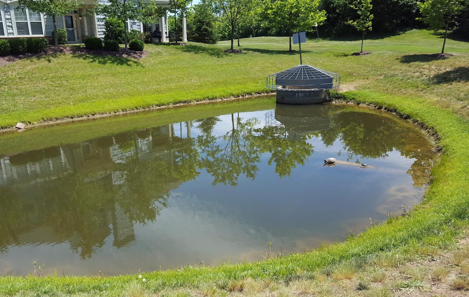 Bioretention Basin Construction pond example nashville