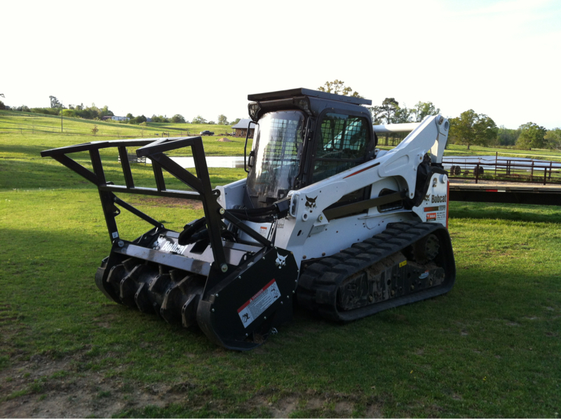 equipment used for Nashville land clearing services with northstar environmental group